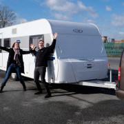 Unser Vivo 530 Wohnwagen