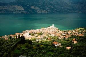 Gardasee - Blick auf Malcesine