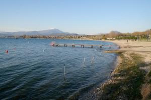 Strand bei Lazise, Gardasee