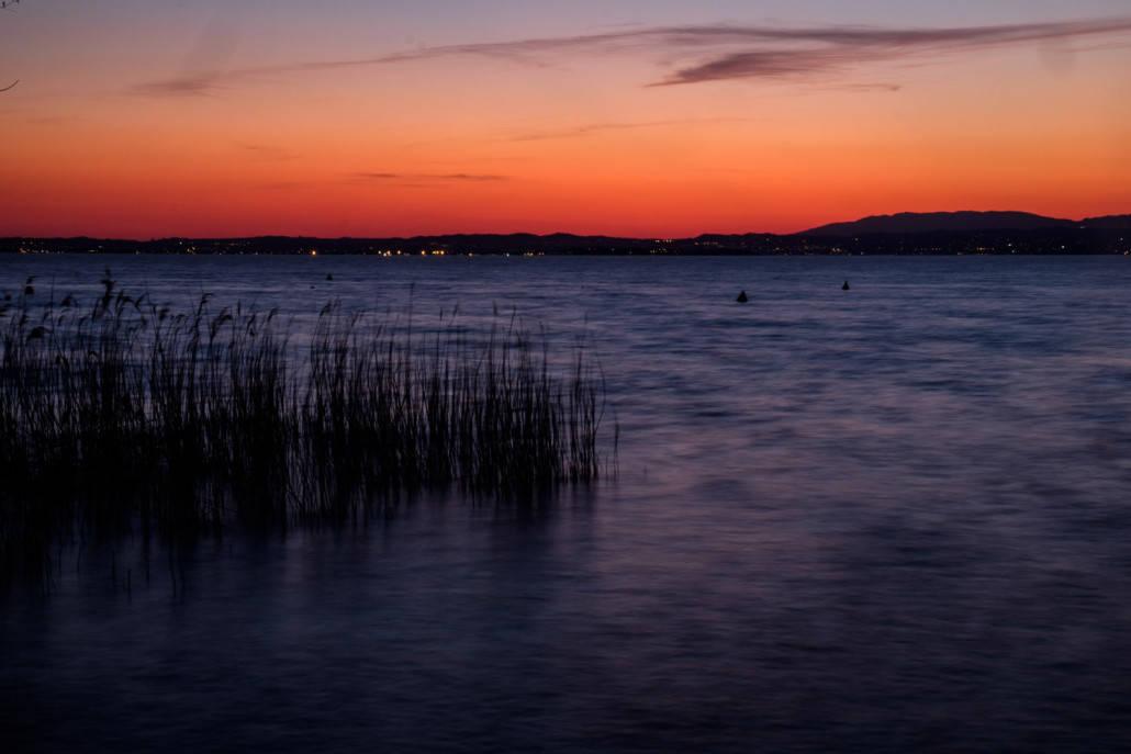 Dämmerung am Gardasee