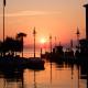 Sonnenuntergang in Lazise