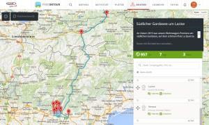 freeontour.com Routenplanung
