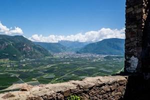 Aussicht von Burg Hocheppan