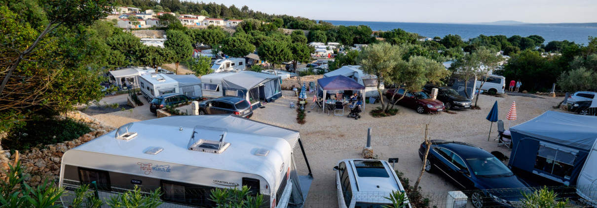 Camping Krk, Kroatien