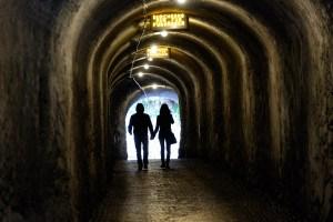 Tunnel bei Schloss Tirol