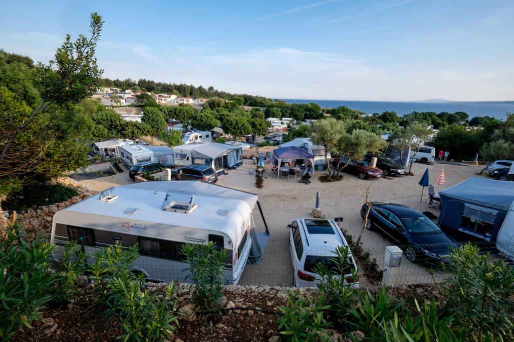 camping krk ein idealer platz f r urlaub in kroatien am meer. Black Bedroom Furniture Sets. Home Design Ideas