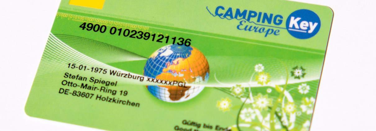 Camping Key Card