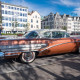 Alter Buick von 1958 in Alesund
