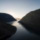 Laerdal-Fjord aus der Luft