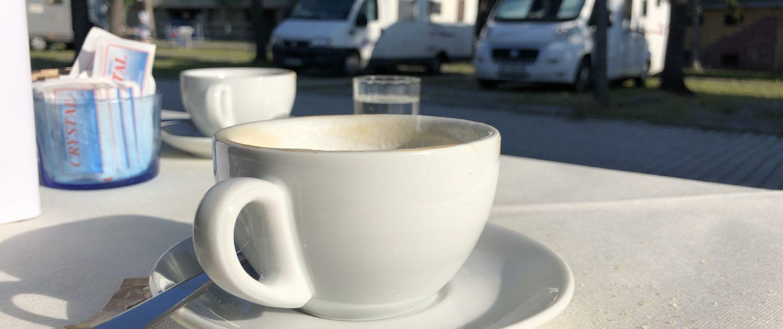Italienischer Cappuccino
