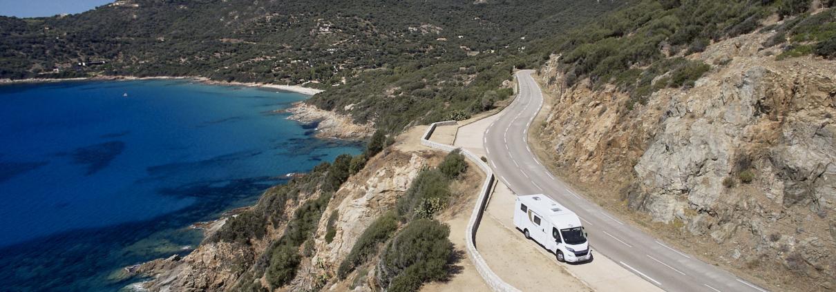 Carado V337 auf Korsika