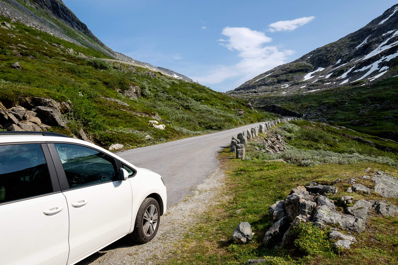 Fahrt zum Strynefjell