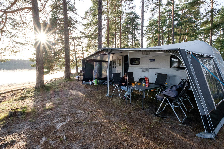 Hornnes Camping im Setesdal