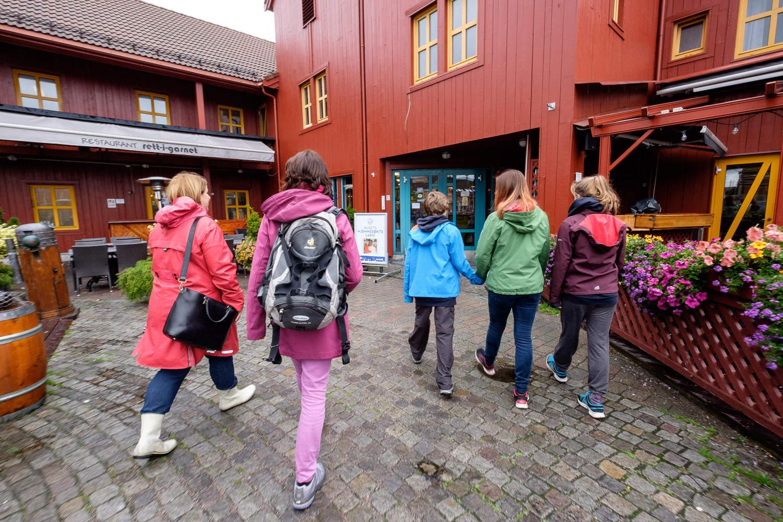 Im Hafen von Kristiansand
