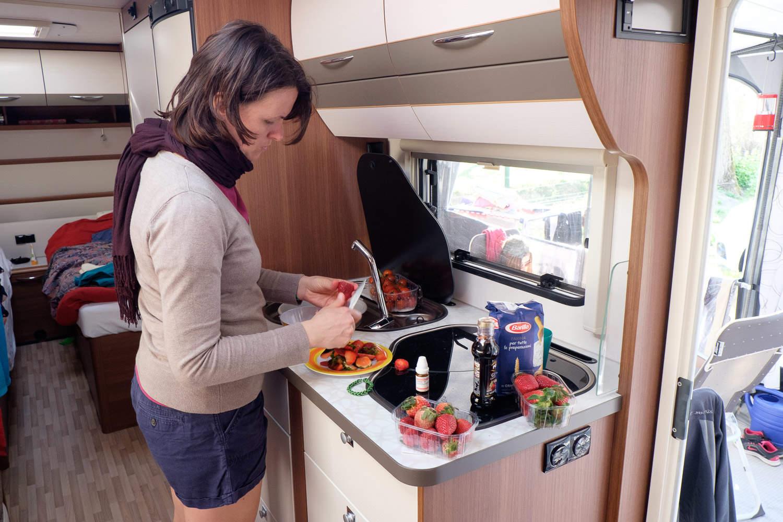 Küche: praktisch und gut nutzbar