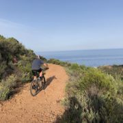 Mountainbiken im Esterel-Gebirge