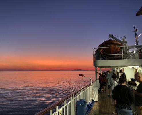 Morgendämmerung bei Bastia