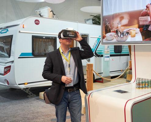 VR bei Tabbert - CMT 2017