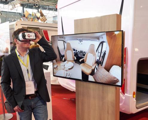 VR bei Bürstner - CMT 2017