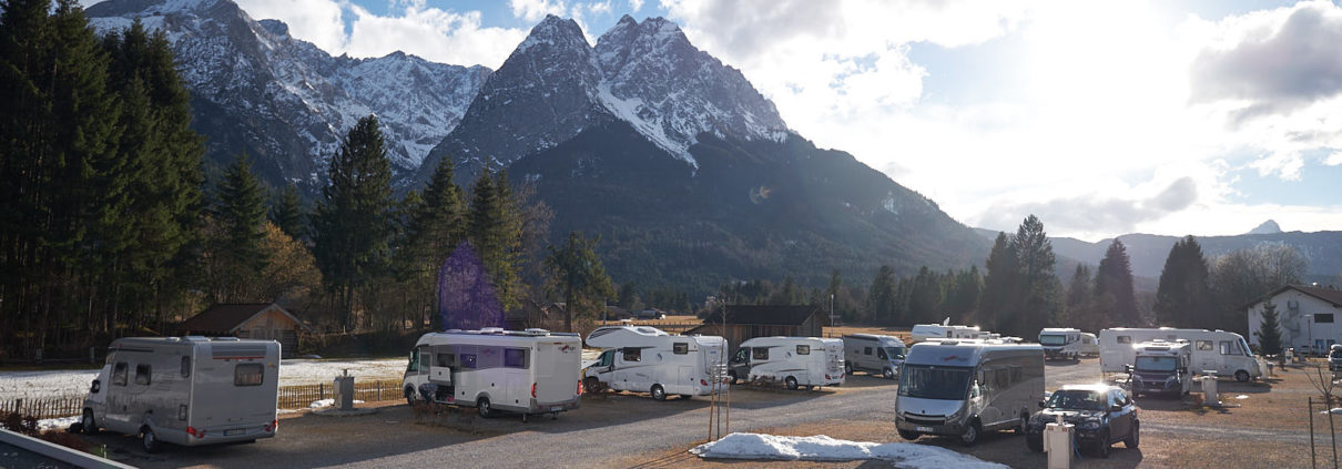 Camping Resort Zugspitze in Grainau