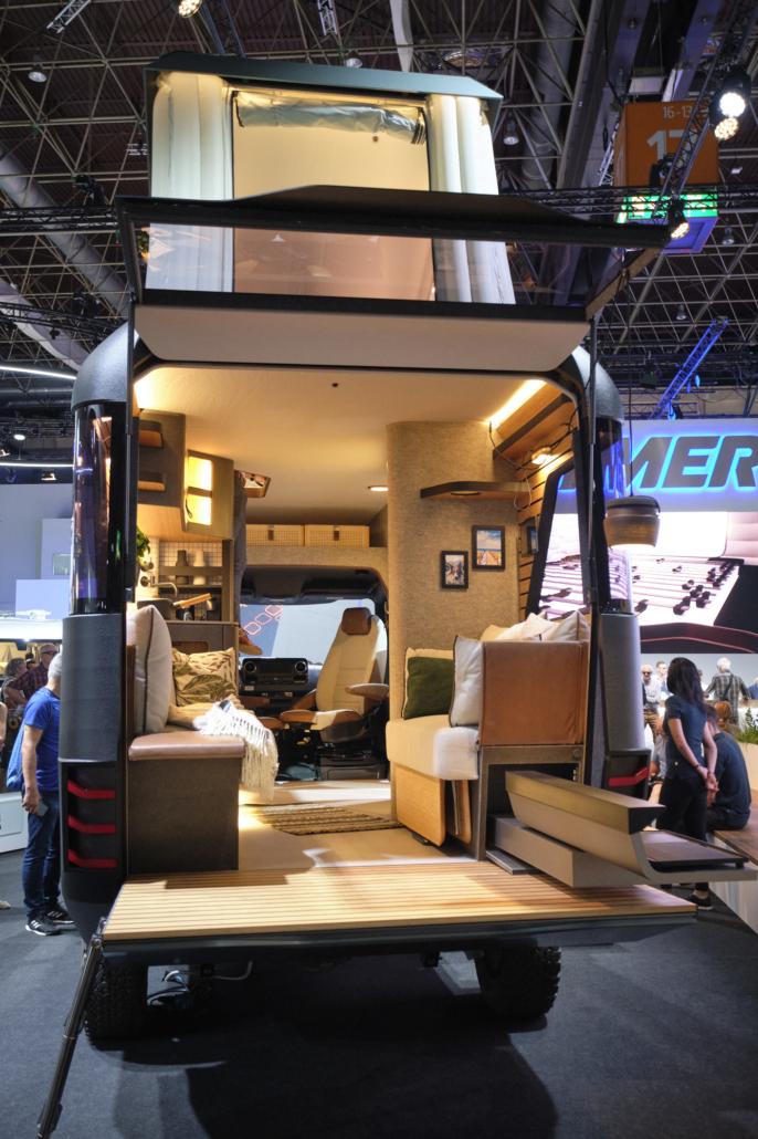Hymer Studie Vision Venture am Caravan Salon 2019
