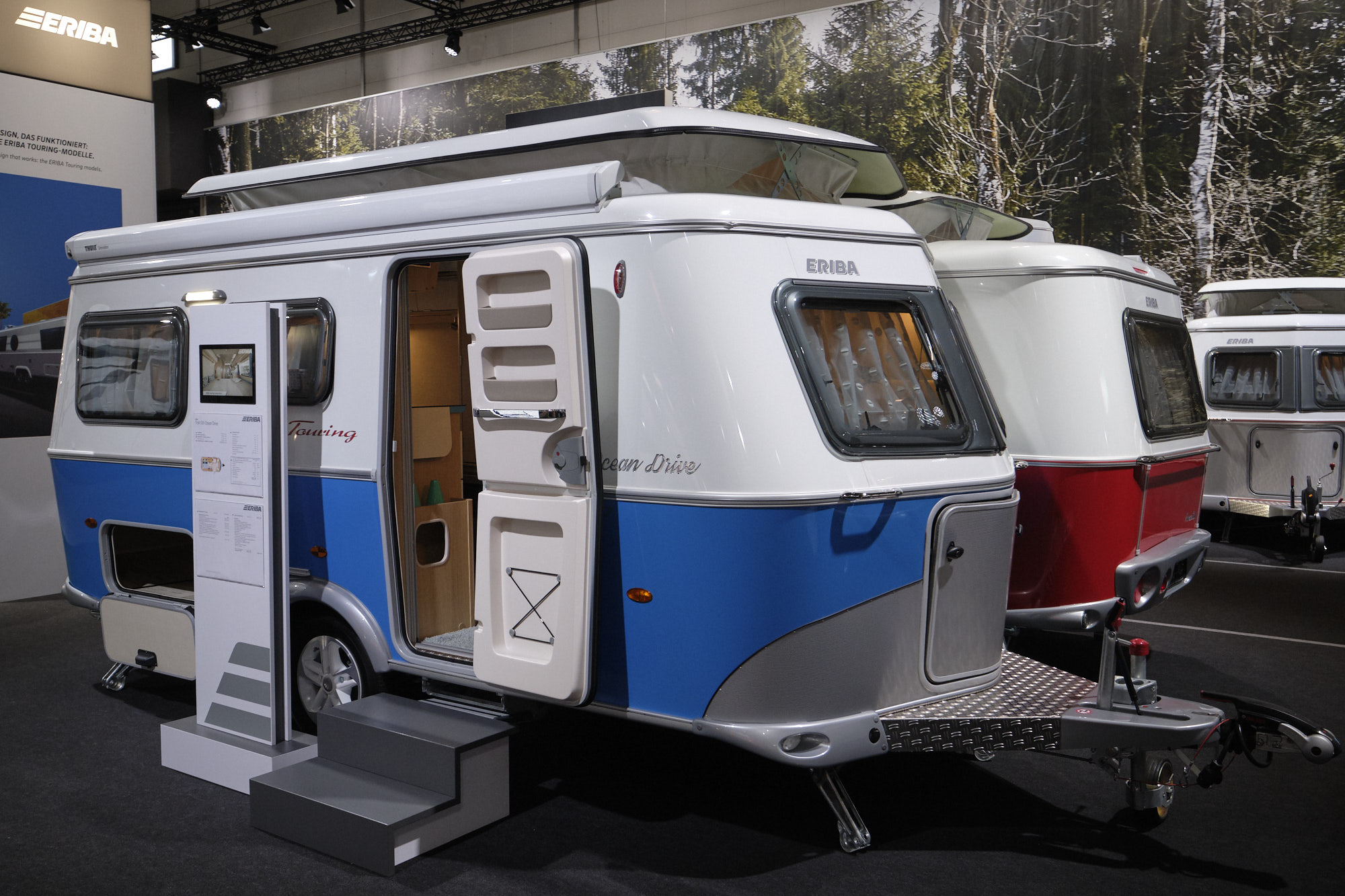 Eriba Touring am Caravan Salon 2019