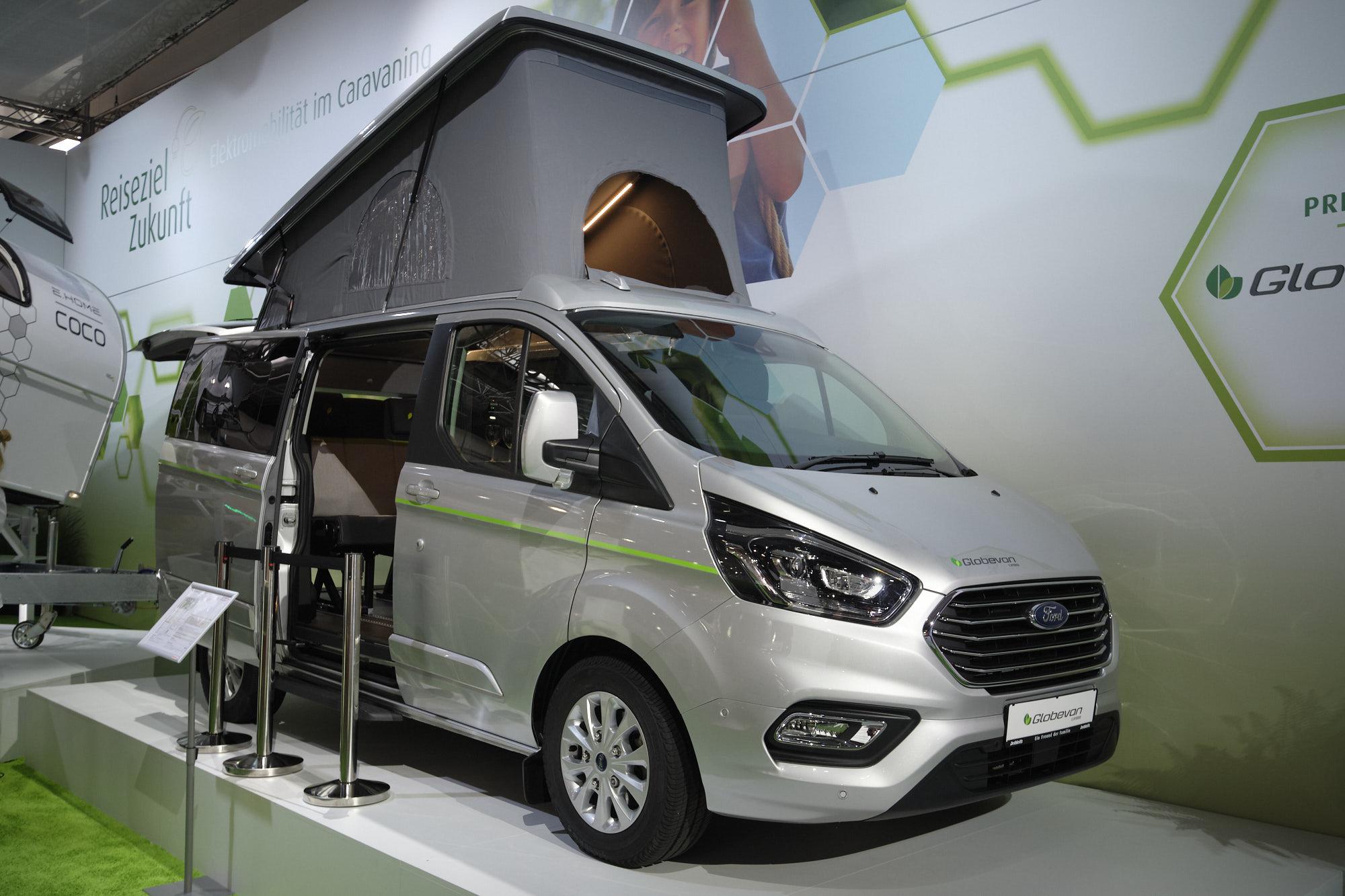 Dethleffs Globavan e.hybrid am Caravan Salon 2019