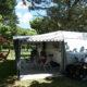 Unser Platz auf Camping l'Ardechois