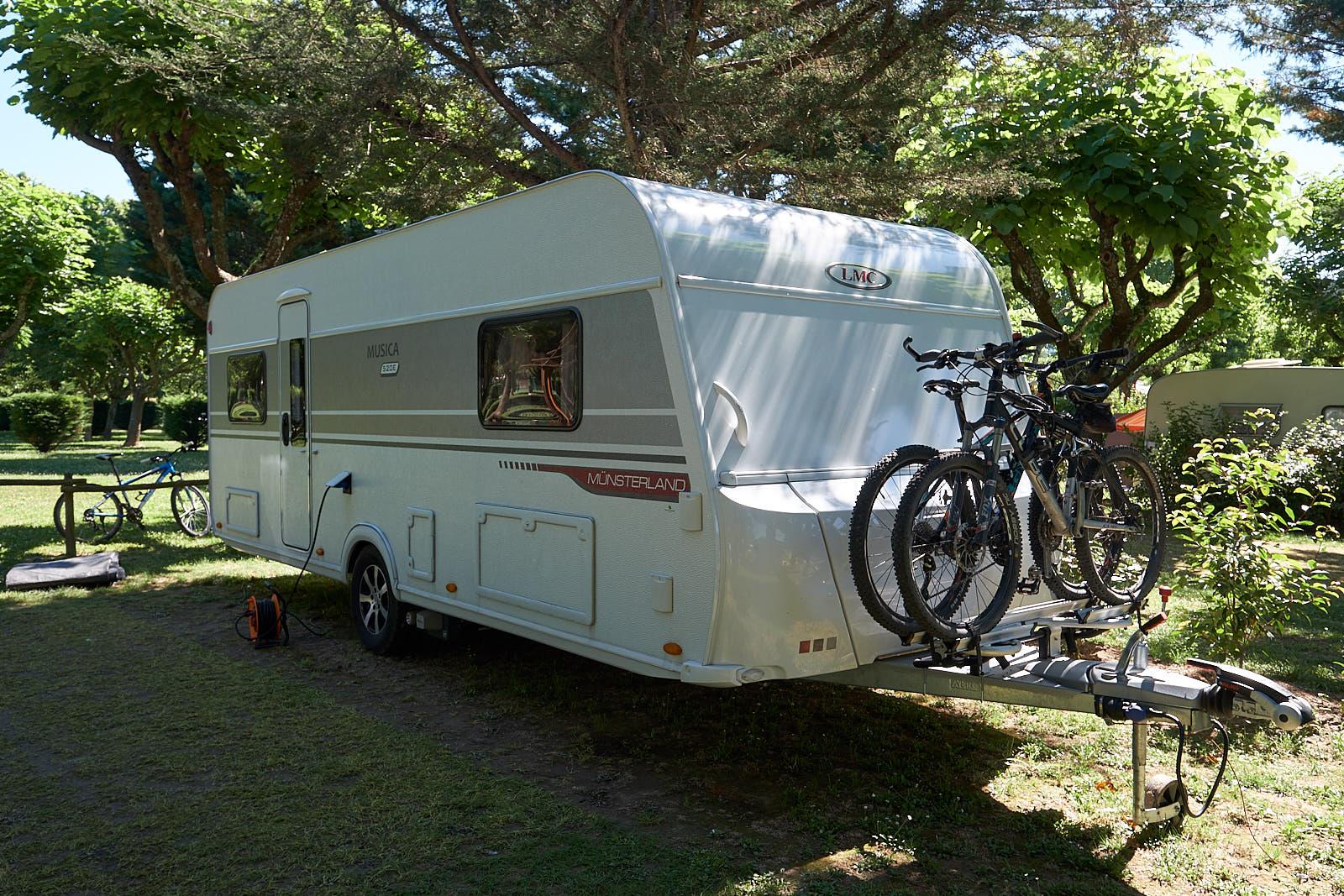 LMC Musica 520 E auf Camping l'Ardechois
