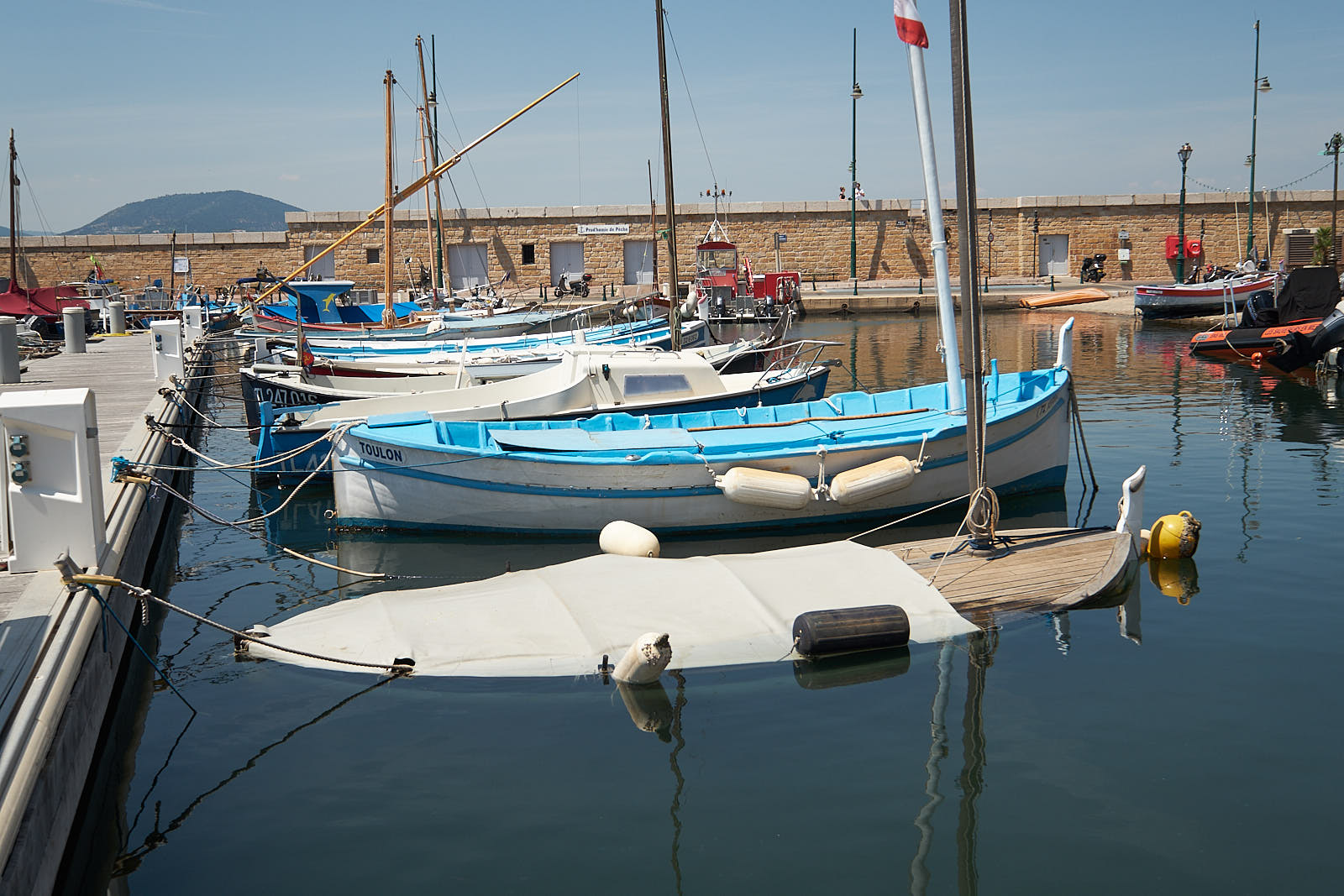 Hafen in Saint Tropez