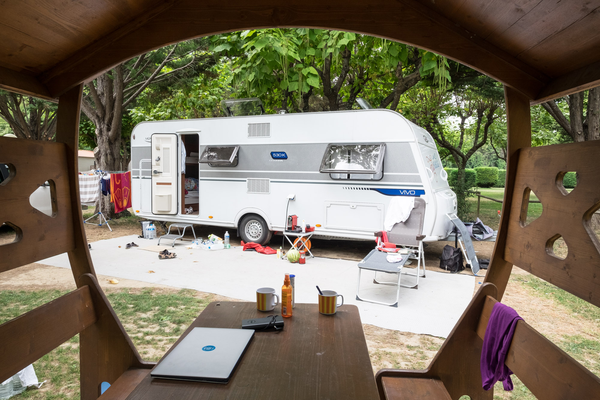 LMC Vivo 530 K auf Camping L'Ardechois