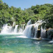 Die berühmten Krka-Wasserfälle