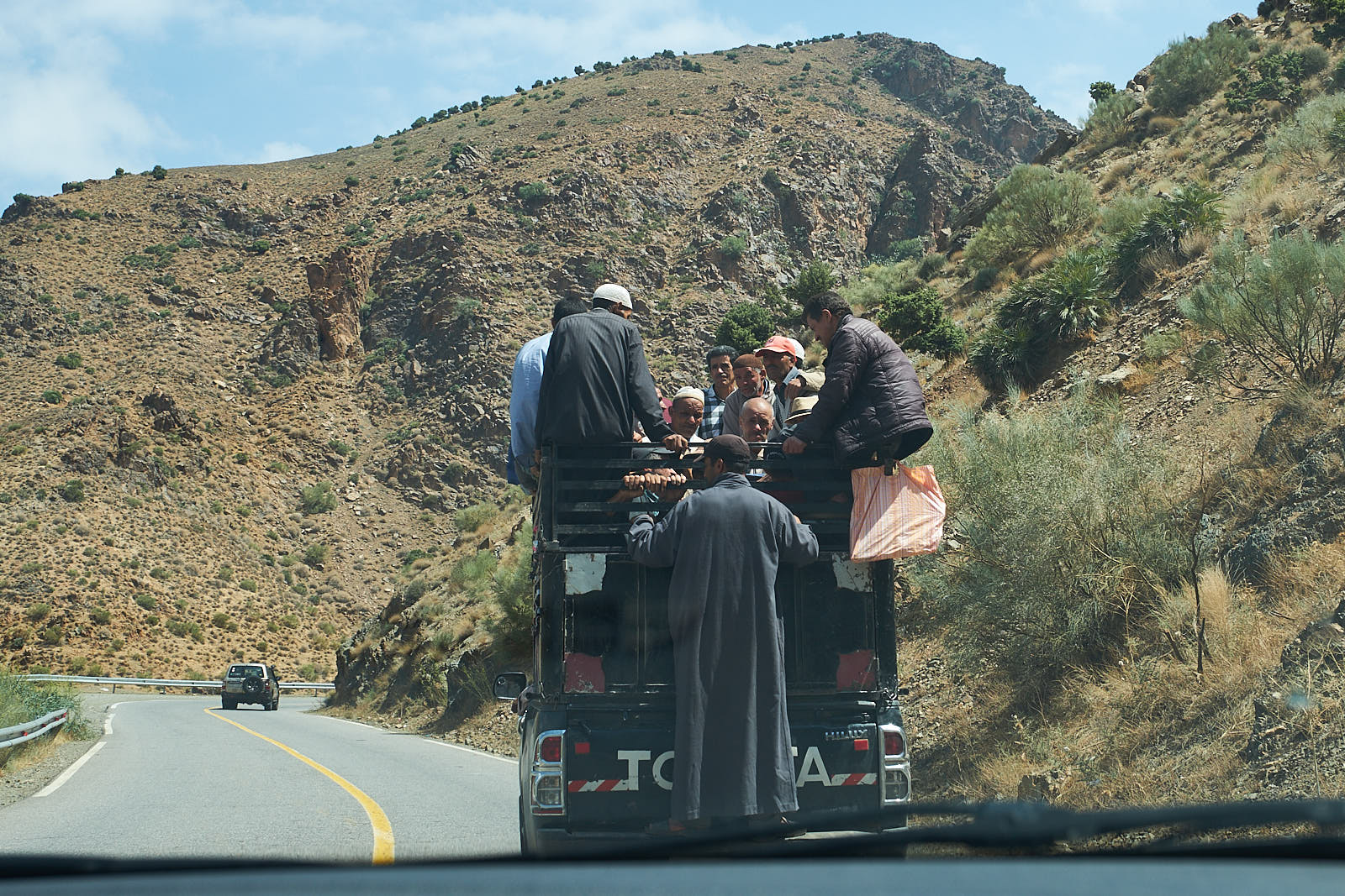 Marokkanisches Sammeltaxi