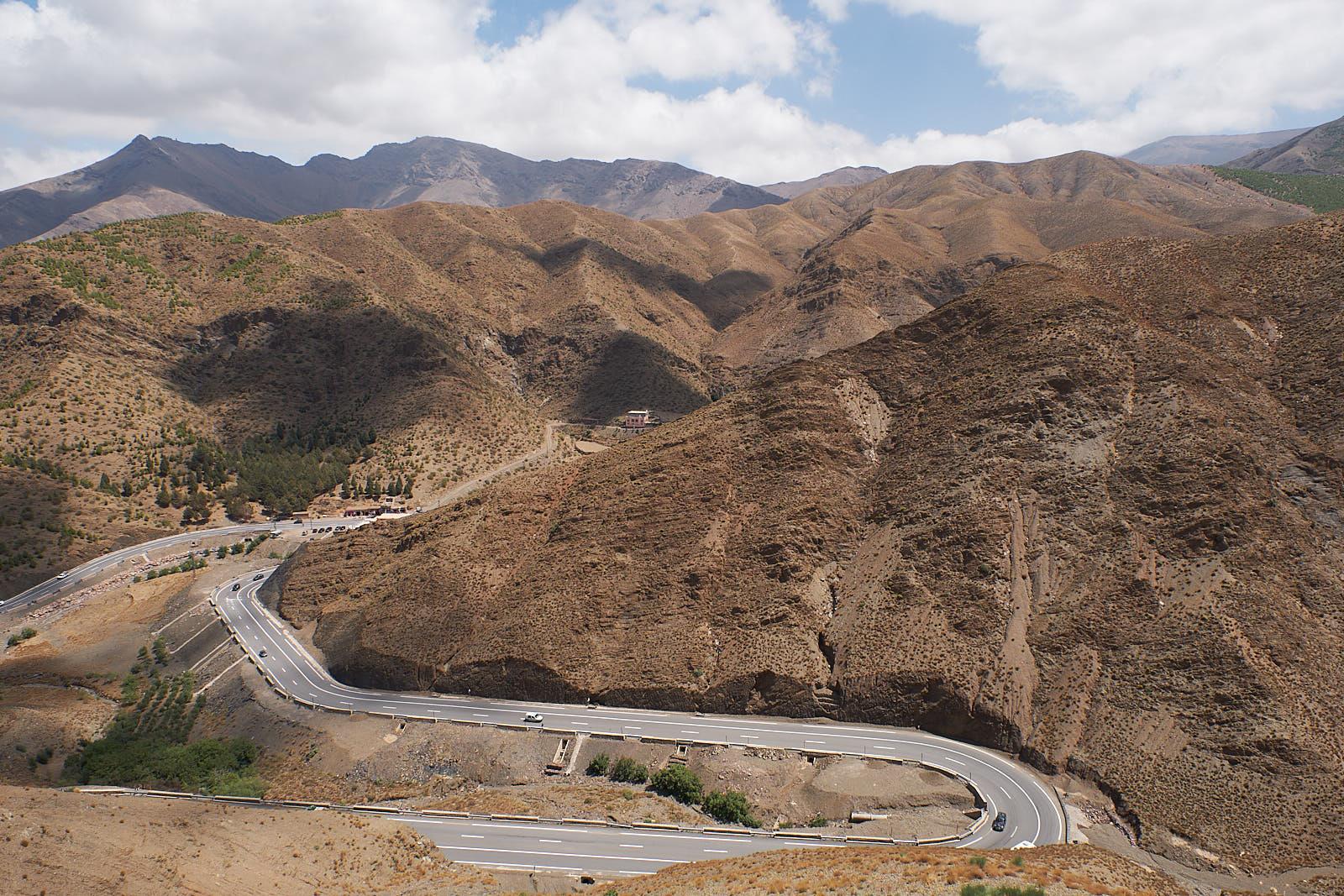 Pass im Atlasgebirge
