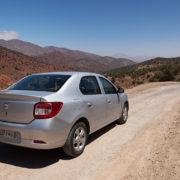Piste nach Telouet im Atlasgebirge, Marokko