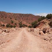 Piste im Atlasgebirge, Marokko