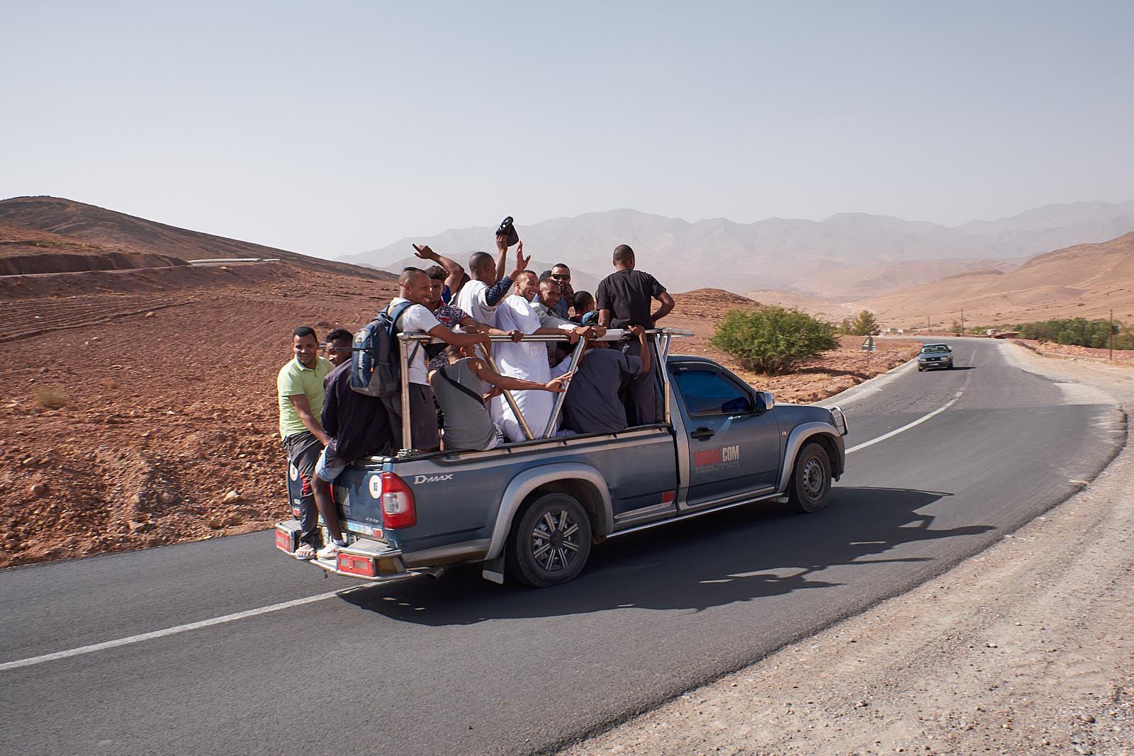 Marokko - Sammeltaxi
