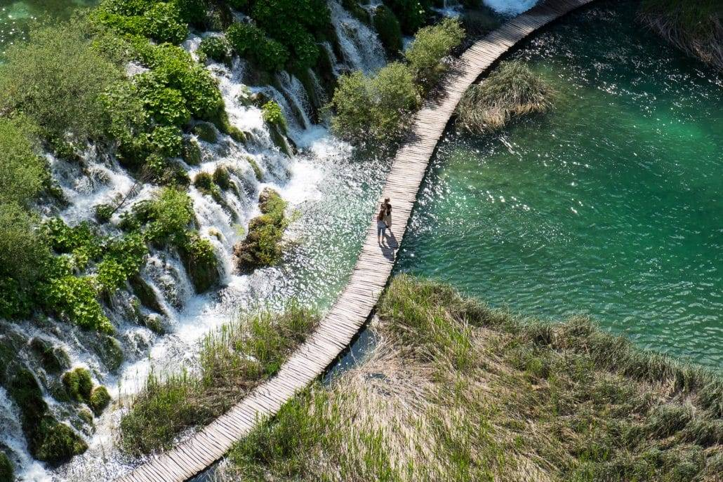 Die unteren Plitvicer Seen