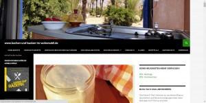 Kochen und Backen im Wohnmobil