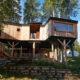 Baumhaus auf dem Caravan Park Sexten