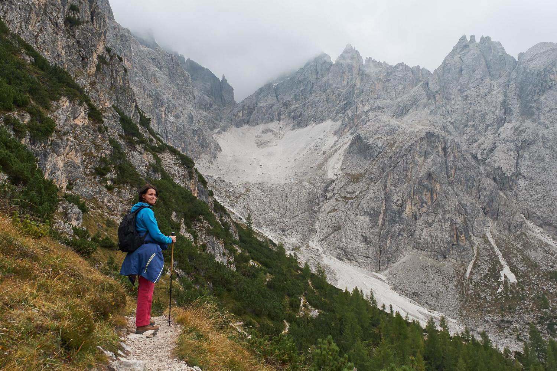 Wanderung in den Sextener Dolomiten