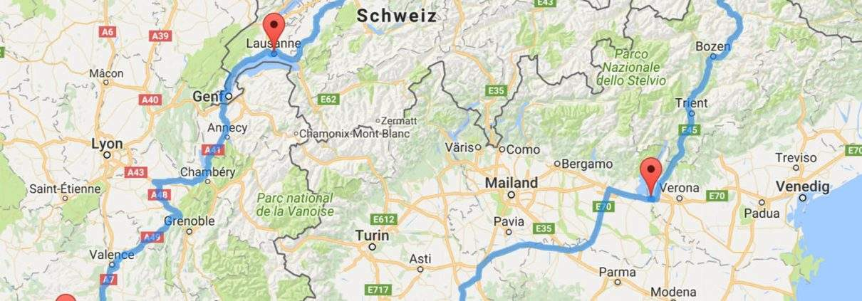 Provence Routenplanung