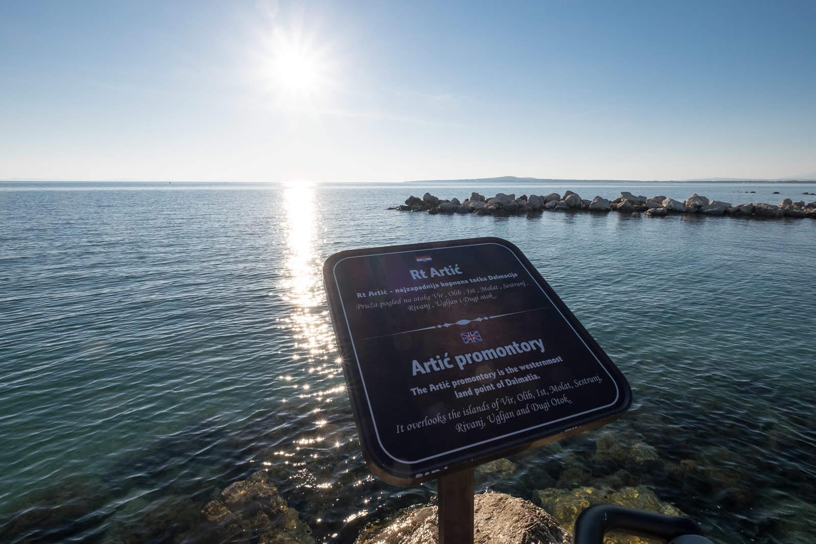 Am westlichsten Punkt von Dalmatien!