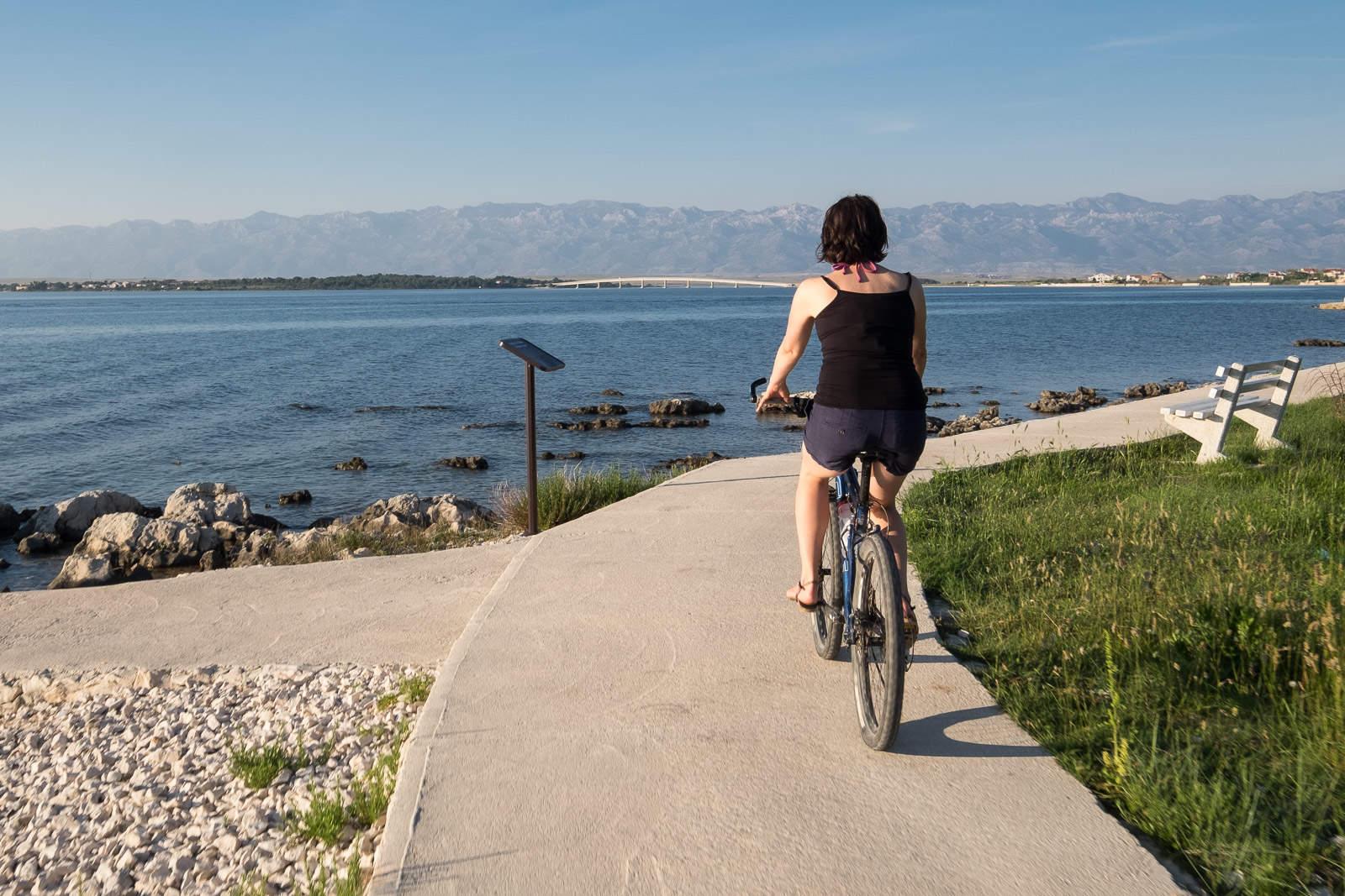 Radeln am Meer bei Privlaka